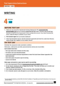 Reach WRITING